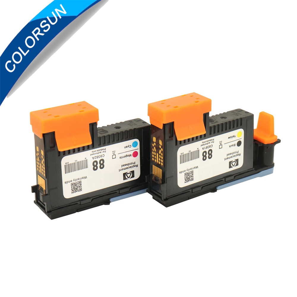 Black//Yellow Printhead K550 K5400 K8600 L7000 L7480 L7550 C9381A FOR HP 88
