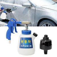 Interior Dry Deep Air Cleaning Cleaner Auto Car Washing Foam Spray Tool For Tornado