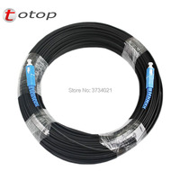 300M Outdoor FTTH SC UPC Drop Patch Cable G657A Fiber optic patch cord FTTH fiber optic jumper Cable