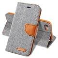 Чехол Для iPhone 7 6 6 s Плюс Крышка Мягкая Ткань Кожа Силиконовой Оболочки полный Защитный Бумажник Откидная Крышка Для iPhone 5 5s SE 6 6 s 7 случае