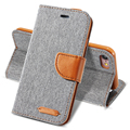 Case para iphone 7 6 6 s plus capa pano macio da pele de silicone shell completa proteção wallet virar capa para iphone 5 5s se 6 6 s 7 caso