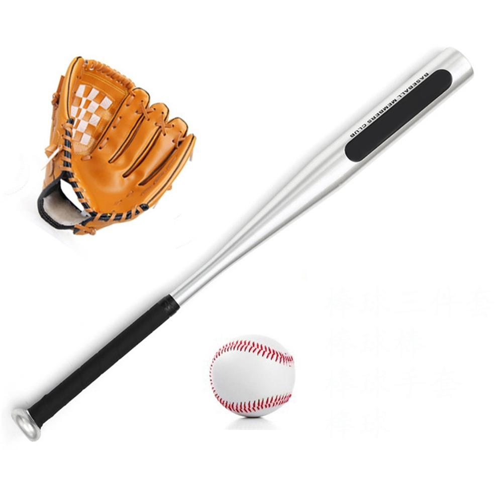LumiParty Portable Softball Baseball Three-piece Toys with Balls + Bat + Glove for Childern Kids Carrying Bag Included baseball history for kids america at bat from 1900 to today with 19 activities