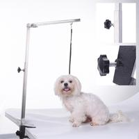 Pet Cleaning Products Stainless Steel Suspender Bracket Of Folding Beauty Table Foldable Pets Puppy Grooming Table 62cm