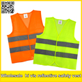 100% polyester Light weight thin mesh safety vest reflective vest cheap vest free shipping