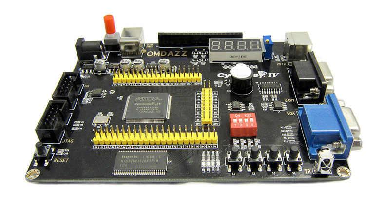 ALTERA EP4CE6 FPGA Development Board Altera Cyclone IV NIOSII EP4CE Board  and USB Blaster Programmer
