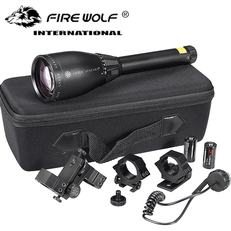 ND3X50 ND50 Long Distance Green Laser Designator w/ Adjustable Scope Mount