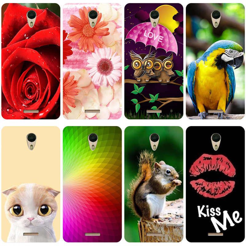 Leuke Cartoon Dier Patroon Case Voor BQ BQ-5201 Ruimte Cover Silicone Soft Shell Voor BQ 5201 BQ5201 Case Telefoon Back cover Capa