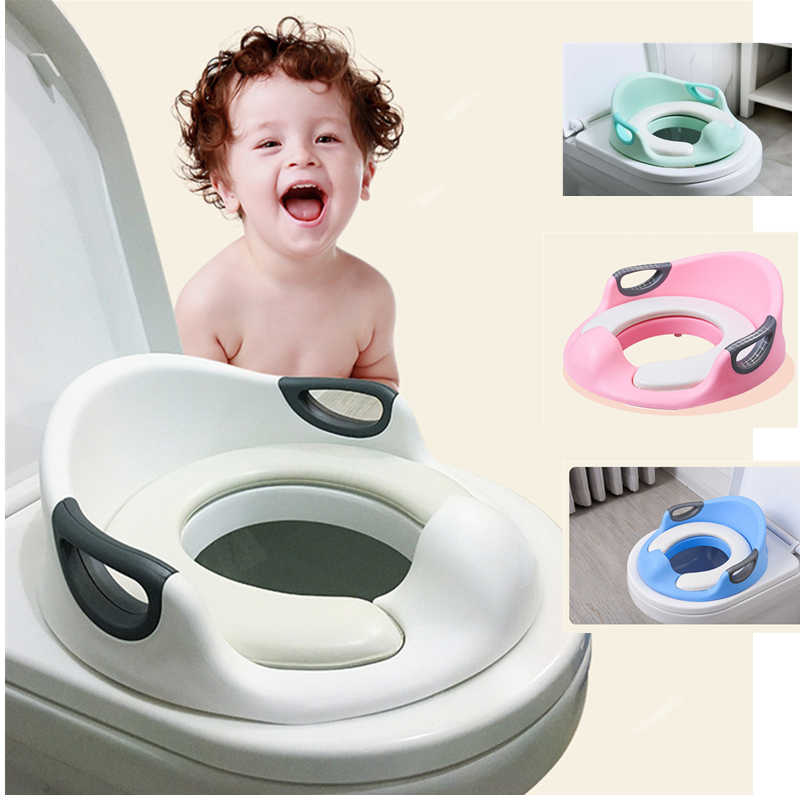 Детский горшок для детей с подлокотниками для детей с гибкостью, чтобы адаптироваться к различным WC Универсальный