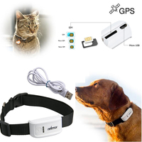 New Arrival Mini PET GPS TRACKER for dogs,cats,pets With Google Map Tracking System without Orginal Box