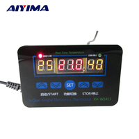 12V High precision Three-Display Multifunction Digital Temperature Controller Thermostat Control Switch 10A