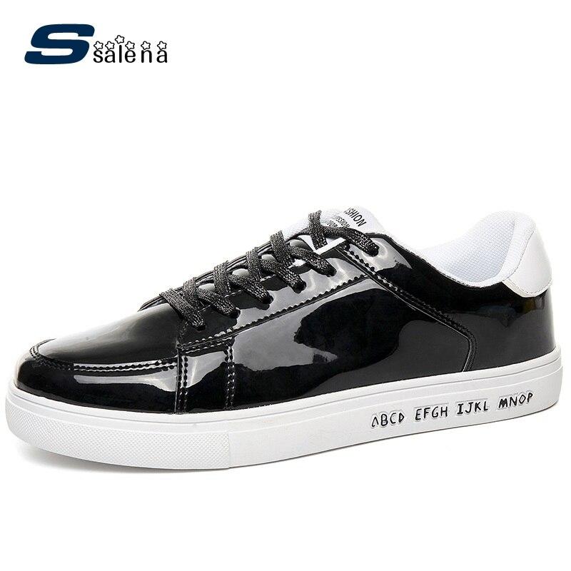 Prix pour Hommes Chaussures Pour La Planche à Roulettes Respirant Lacent Hommes Sneakers Plate-Forme Portable Confortable En Plein Air Chaussures AA40428