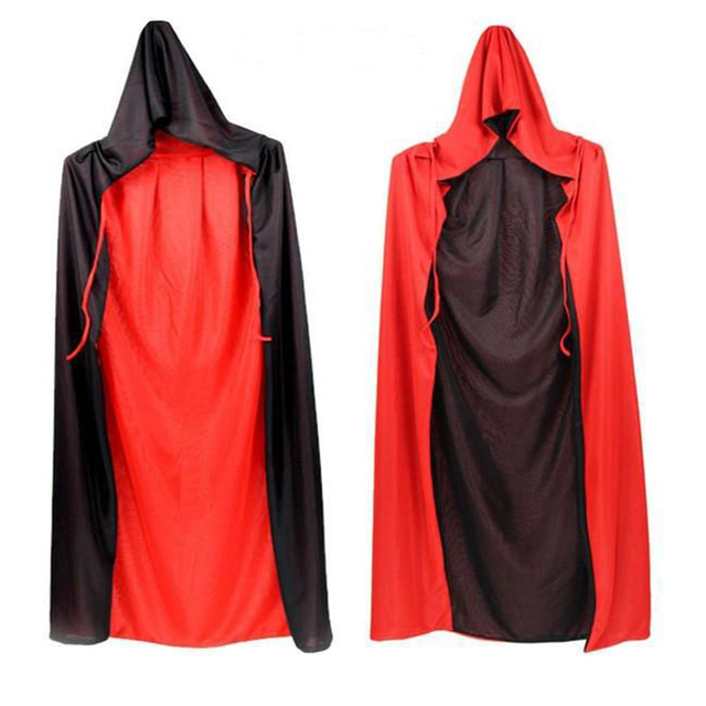 57ca4db57cb Halloween costume adult children Cloak   witch cap   Death cape Vampire  Masquerade COS plus size halloween costumes for women