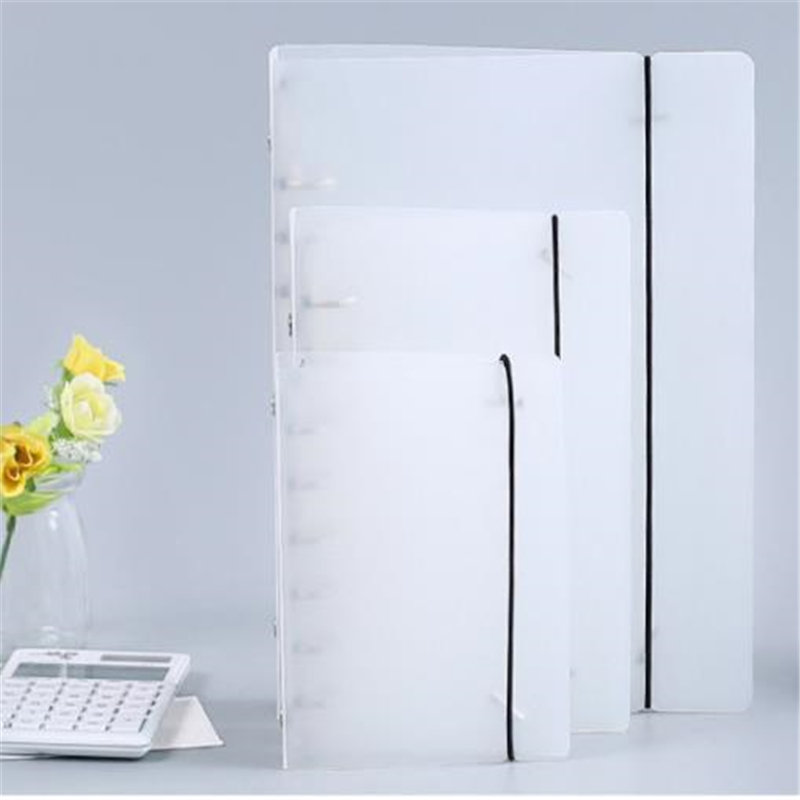 Coloffice Creative PP Plastic Folder Frosted Filing Product Notebook Students Stationery Book Binder Folder Office Supplies 1PC(China)