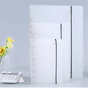 Coloffice Binder Folder Stationery Filing-Product Book Creative Students 1PC PP Frosted