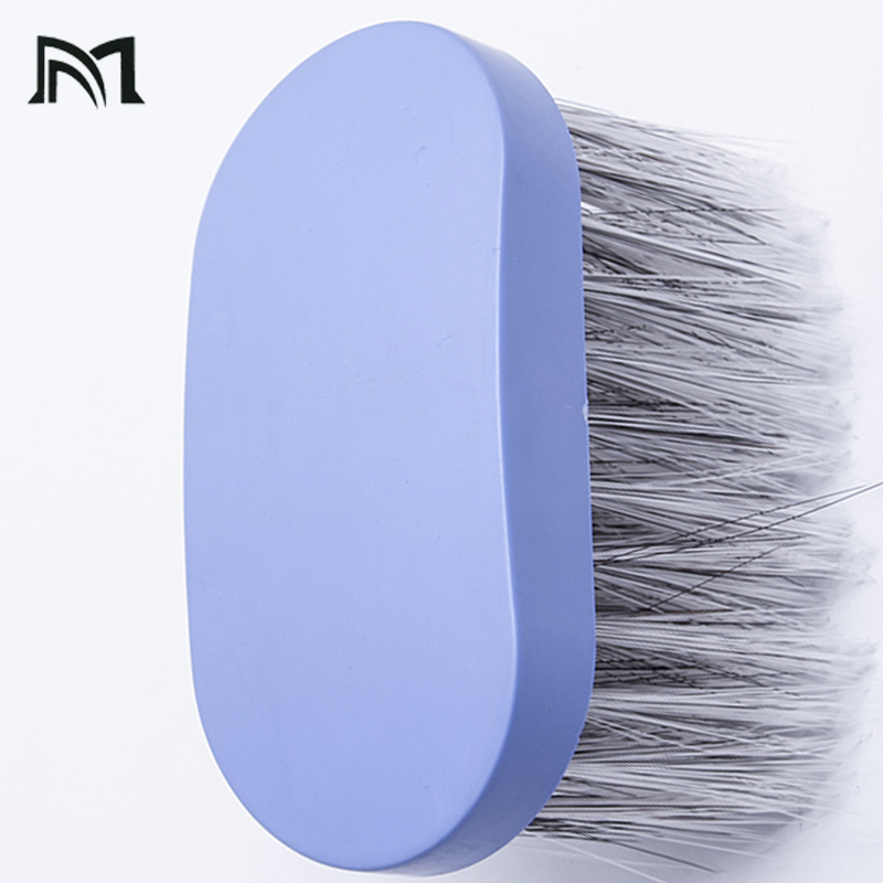 Купить с кэшбэком Professional Hairdressing Shave Brush Soft Salon Hair Cutting Brush Neck Duster Hair Soft Hair Clean Brush Haircut Styling Tools