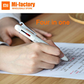 Newest Xiaomi Mijia MOULDE 4 in 1 multi-function pen Mi jia signature pen gel pen pencil for student and office