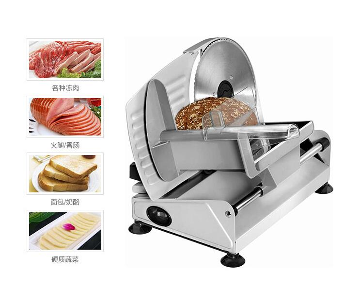 Commercial Appliances Beijamei Commercial Electric Meat Cutting Machine Desktop Multifunctional Beef Mutton Meat Slicer Fish Cutter Home Appliances