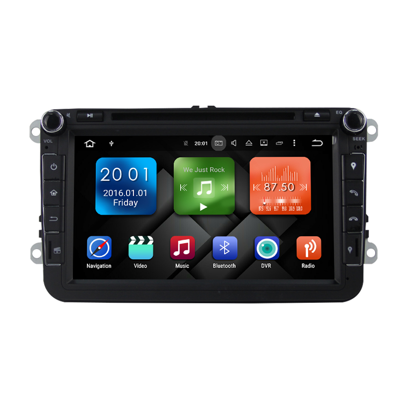 7 Android Autoradio Car Radio Audio Sat Nav for Volkswagen VW Polo Amarok Multivan New Bettle Seat Altea Leon Toledo Magotan