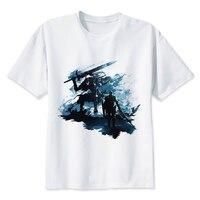 LEQEMAO Dark Souls T Shirt Men O Neck Hip Hop T Shirt Fashion Dark Souls Print