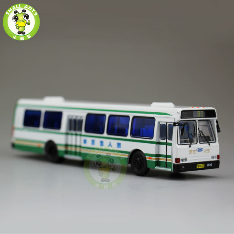 US $32 0 |1:76 America Flxible Bus China ShangHai Bus NO 81 Diecast Bus Car  Coach Models-in Diecasts & Toy Vehicles from Toys & Hobbies on