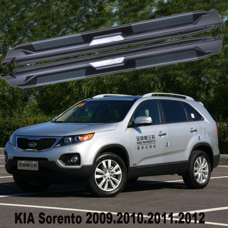 2011 Kia Sorento Accessories: For KIA Sorento 2009.2010.2011.2012 Running Boards Auto