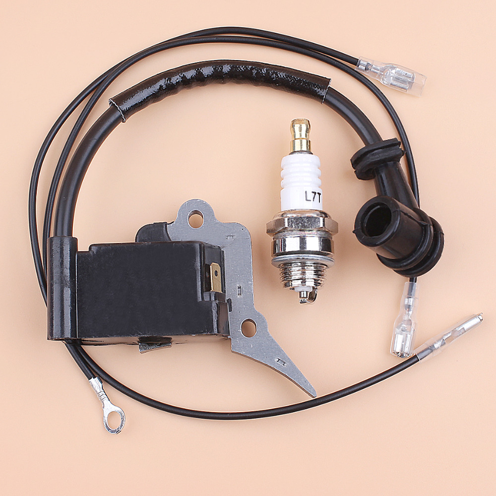 IGNITION COIL MODULE SPARK PLUG FIT CHINESE CHAINSAW 2500 25CC ZENOAH G2500 TIMBERPRO LAWNFLITE SPARE PARTS