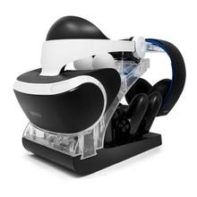 Для PS Move PS4 контроллер PSVR гарнитура витрина для хранения джойстик зарядная док-станция Подставка держатель для PS VR MOVE контроллер