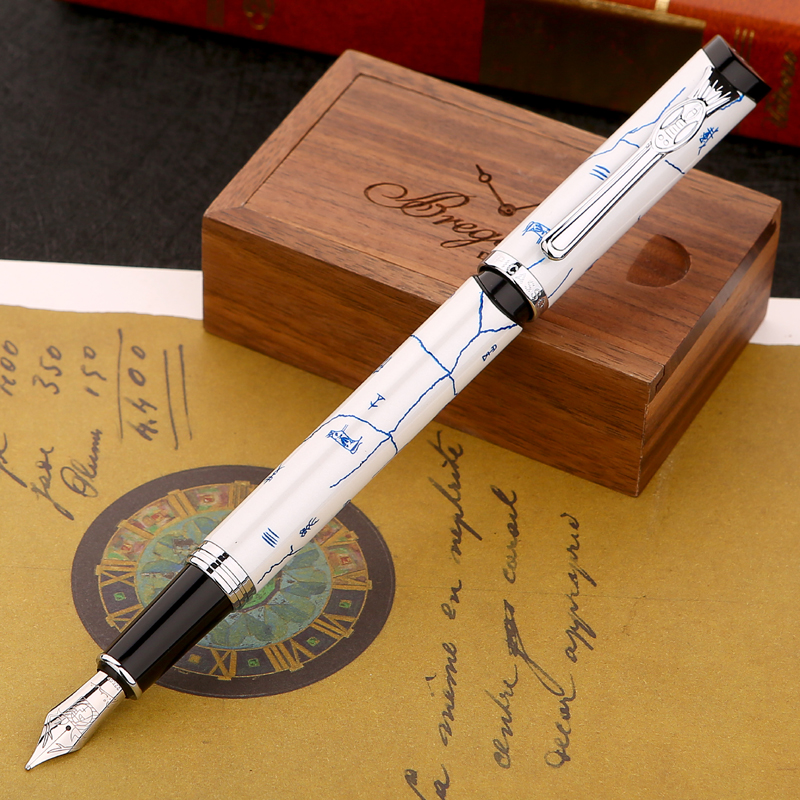 original Picasso fountain pen ps-927 silver fountain pen high-grade teacher leader gift white Oracle green FREE shipping original picasso fountain pen ps 927 silver fountain pen high grade teacher leader gift white oracle green free shipping