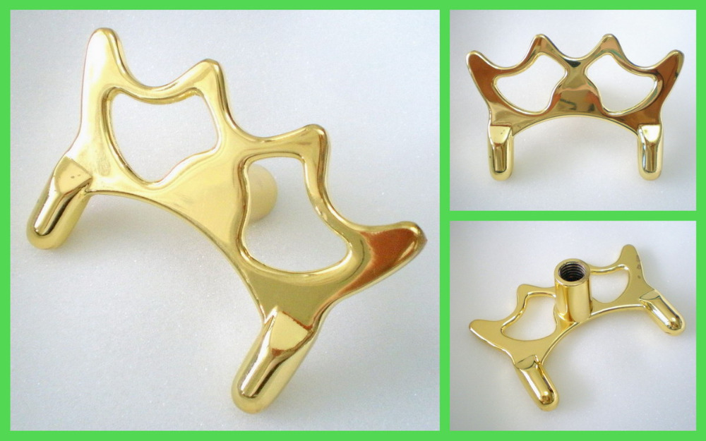 Free Shipping 1PCS/LOT Brass Butt Rest Head Pool Snooker Billiard Table Stick SPIDER