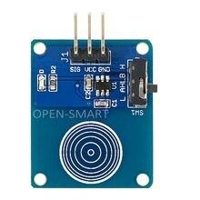 Capteur tactile capacitif numérique (Mode bascule), Module de commutation pour Arduino