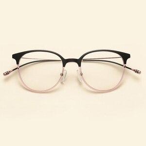 Image 4 - NOSSA Brand Ultralight TR90 Optical Glasses Frames Korea Style Fashion Casual Eyewear Frames Men Women Myopia Eyeglasses Frame
