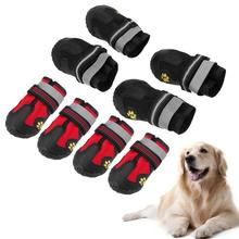 Waterproof Non Slip Pet Dog Shoes Outdoor Sport Shoes Warm Dog Boots Puppy Cat Booties Boots Shoes Pet Products Dog Supplies