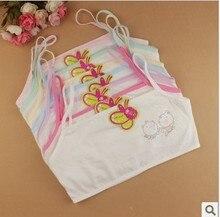 V TREE 100 cotton young girls training bra 10 15 years old children bras Condole belt
