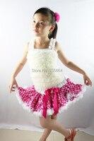 Toptan yeni kız çocuk dans dress prenses bale tutu giyim 1-10 t puantiyeli sahne performansı beyaz üst çocuk giysileri