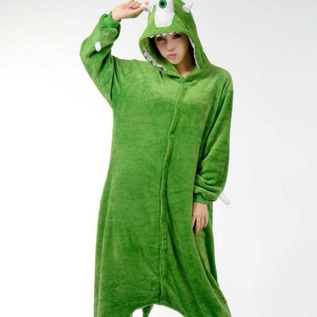 Adult Onesie Pajama Sets Women Pajamas Adults Cosplay Cartoon Animal Onesies  Sleepwear Flannel Wholesale Christmas Mike Monster 17b137d0a