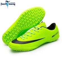 7895cdcb FANCIHAWAY hombres zapatos de fútbol de césped de fútbol zapatos  profesionales TF Superfly Futsal tacos formación