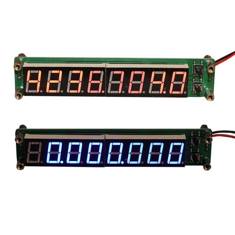 0,1-60 MHz 20 MHz-2,4 GHz RF 8 dígitos LED Singal contador de frecuencia Cymometer de Apr