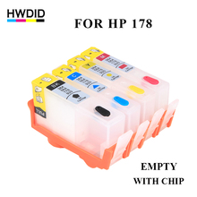 EMPTY 178 Refillable Ink Cartridge For HP 178 Photosmart C5380 C5383 C6380 C6383 D5460 D5463 C309a C309c C310c C309g Printers