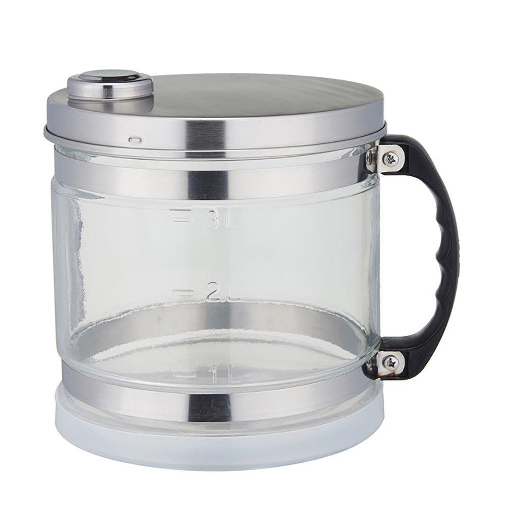 4 Litres New Moonshine Still Home Pure Water Alcohol Distiller Filter Purifier Equipment Boiler Brewing w/Glass Bottle - 6