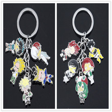 Hot Sale Anime My Hero Academia Keychain Boku No Key chains For Men Women Car Holder Gifts Keyrings