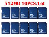 10 pièces/lot 256 MB 512 MB Carte mémoire Carte SD 256 MB 512 MB Mini Carte Memoire SD pour la chine en gros fournisseur pas cher livraison gratuite