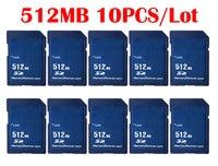 10PCS/Lot 256 MB 512 MB Memory Card SD Card 256MB 512MB Mini Carte Memoire SD for China Wholesale Supplier Cheap Free Shiping