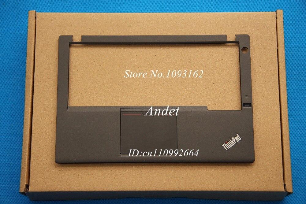 ФОТО New Original Lenovo ThinkPad X230S Palmrest Cover FR W/ TF Touchpad Fingerprint 04X0755