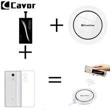 Qi Беспроводное зарядное устройство для Xiaomi Redmi 3 3s 4A 5A 4X Note 3 4 4X Pro Чехол для мобильного телефона зарядное устройство беспроводной приемник и ТПУ чехол