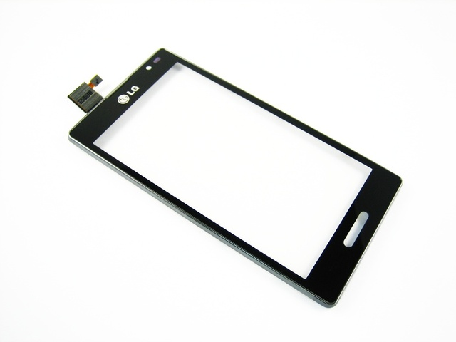 Замена Сенсорного Экрана Digitizer + Рамка для LG Optimus L9 P760 P765 P768 Black