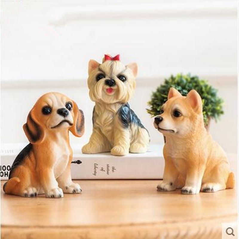 Pryskyřičná simulace živočišných řemesel pro domácí zvířata, bytové dekorace, nábytek stolních počítačů, dárky k narozeninám