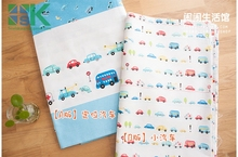 2016 fashion custom DIY Cotton Fabric 100% cotton cloth bedding baby cotton cloth car design patchwork pattern sewing fabric