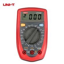 UNI-T UT33B UT33C UT33D  Palm Size Digital Multimeters Electrical Handheld Tester Voltmeter Ammeter LCD Display