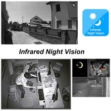 CUSAM WIFI 720P Video Doorbell Wireless Door Phone Intercom Monitor Smart Bell HD Camera PIR Motion Sensor Night Vision Unlock