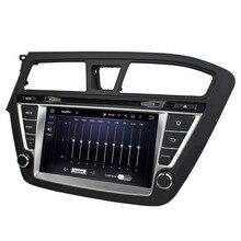 Fit for hyundai I20 2014-2013 7.1.1 system HD 1024*600 car dvd player gps navigation radio 3G wifi bluetooth dvr free map camera